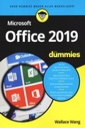 Microsoft Office 2019 voor dummies?